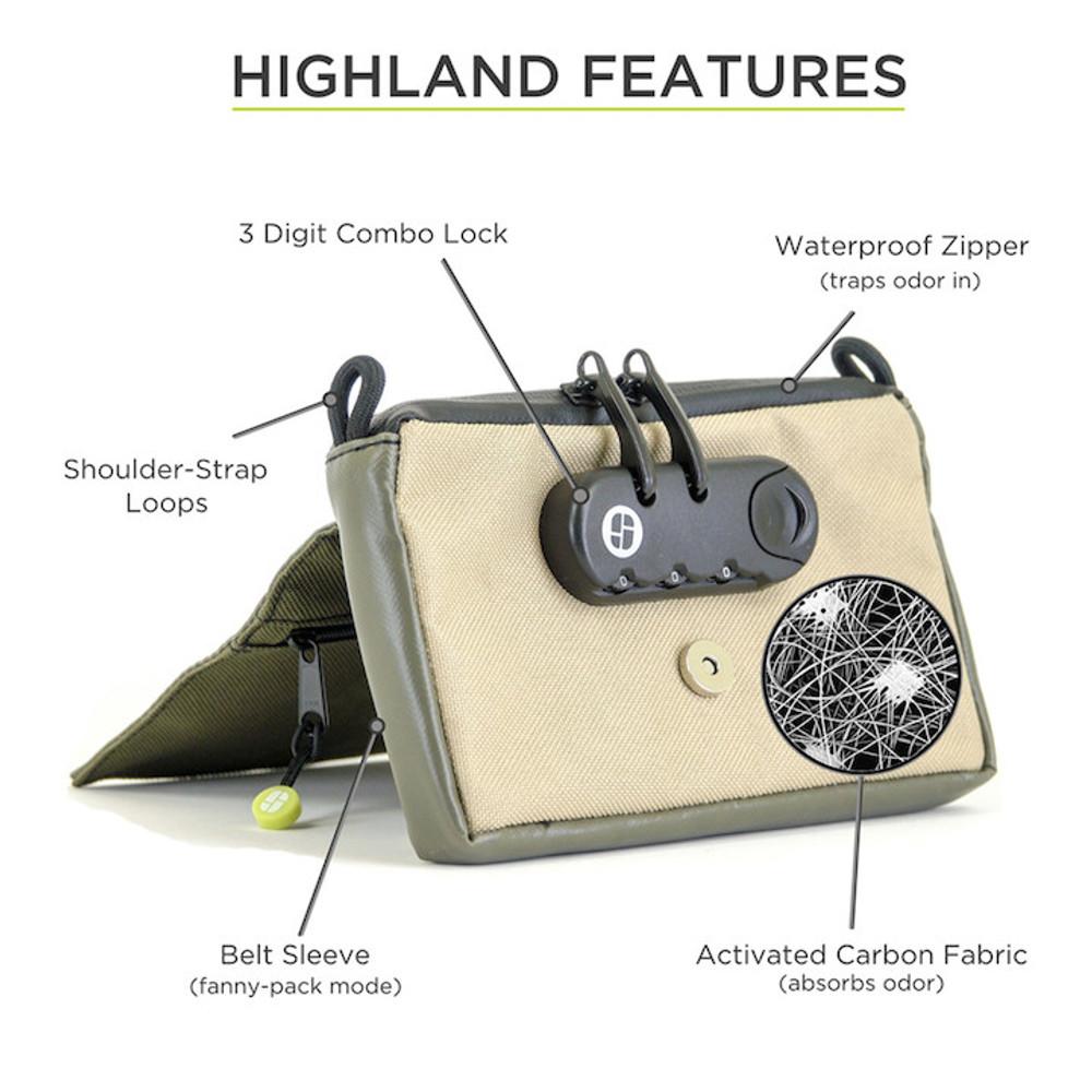 "Stashlogix Highland 3.0 Lockable Case - 7""x5""x1.5"""