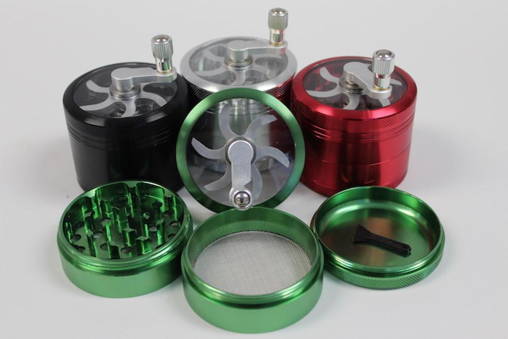4 Parts Crank Aluminum 63mm
