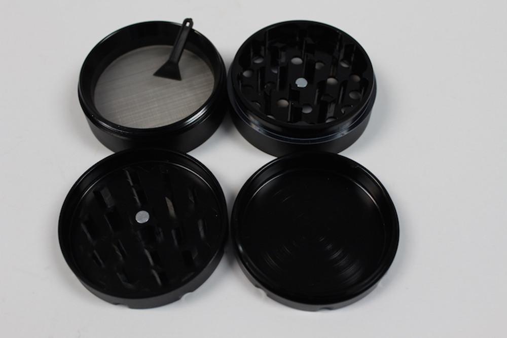 Angle 4 Parts Aluminum 55mm Black