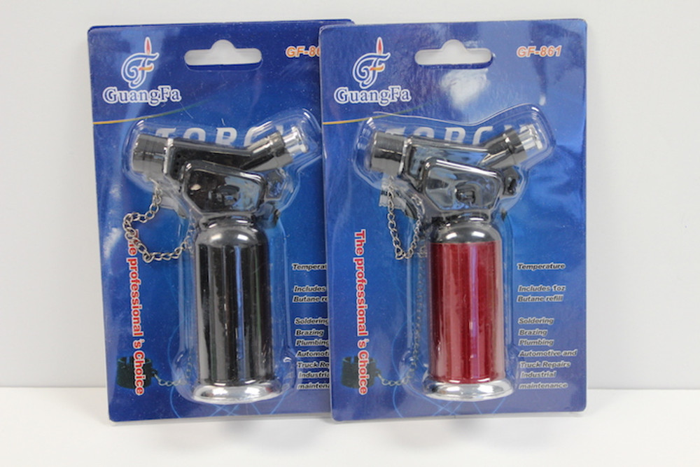 Canister Torch with Chained Cap