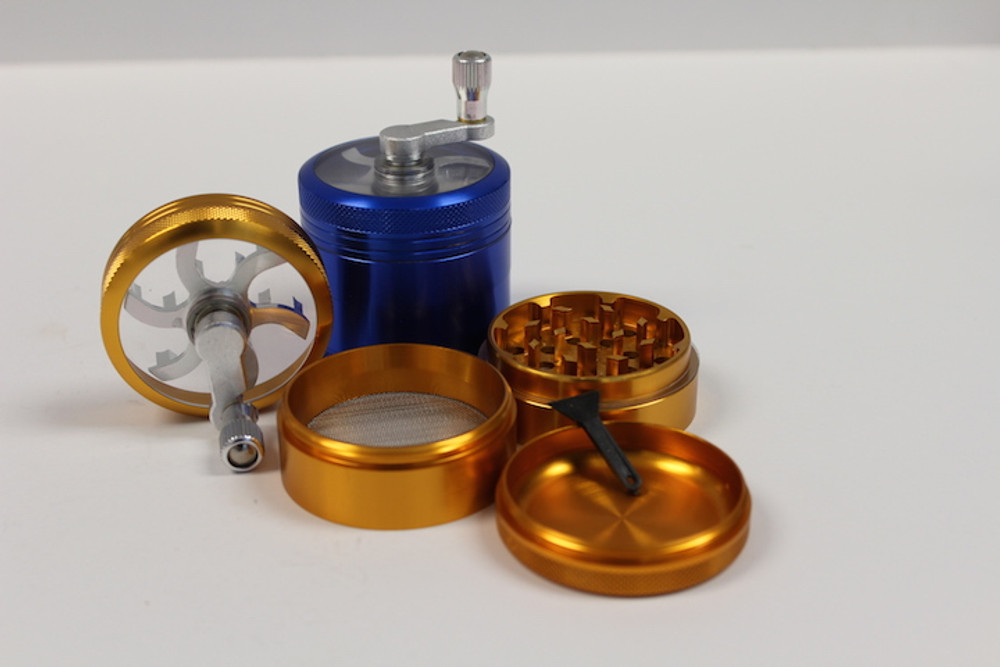 Aluminum Hand Crank (4 parts)