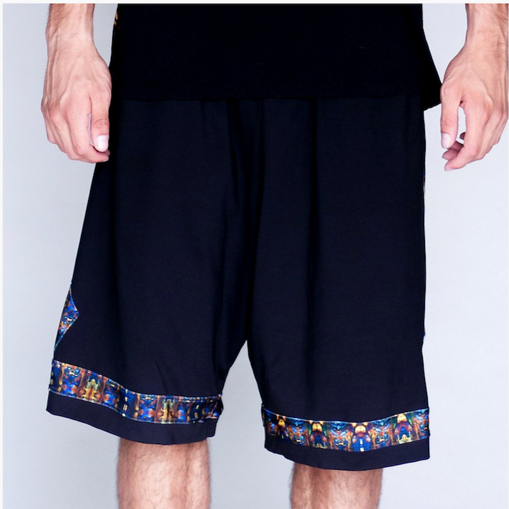 Jumbie Art Anubis Basketball Shorts