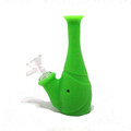 """Silicone Water Pipe - 6"""" / Assorted Colors"""