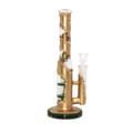 """Faux Metal Fused Water Pipe - 9.5"""" / 14mm Female"""