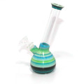"Kay Mayd 3D Printed Clear Waterpipe - 8.5"""