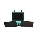 "STR8 Case w/ 2 Layer Foam - 10.6"" x 8.5"" / Teal"