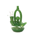Green Tea Pot Waterpipe 6""