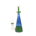"""Green Genie in a Bottle Bong 8.5"""""""