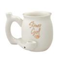 Mug Pipe Stoner Girl 11 oz.