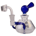 """On Point Glass 6.5"""" Compact Banger Hanger Rig"""