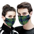 Jumbie Art Face Mask