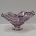 Spiraled Passion Purple Bowl