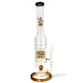 Clear/Amber Ice Triple Threat Perc 20.5""