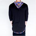 Jumbie Art Horus Men's Hooded Shirt