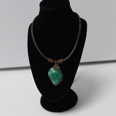 Handmade Inca Necklace with Peruvian Turquoise