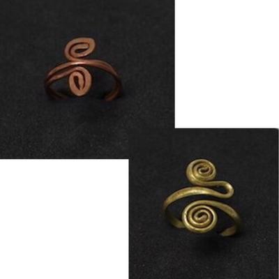 Handmade Inca Infinity Ring from Peru