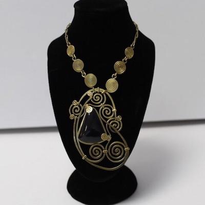 Unique Handmade Inca Necklace from Peru