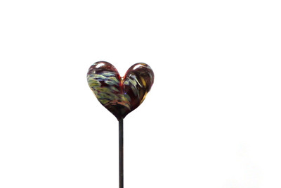 "6"" Heart-Shaped Poker - Made in USA"