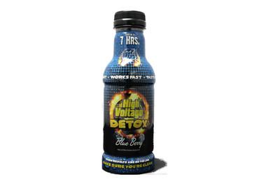 16 oz. High Voltage Detox - Blue Berry