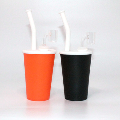 "Silicone Drink Cup Rig - 9""/ 14mm Female"