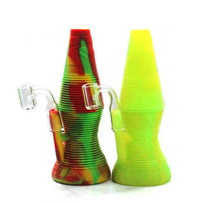 "Pulsar RIP Lava Flow Silicone Oil Rig - 8"" / 14mm"