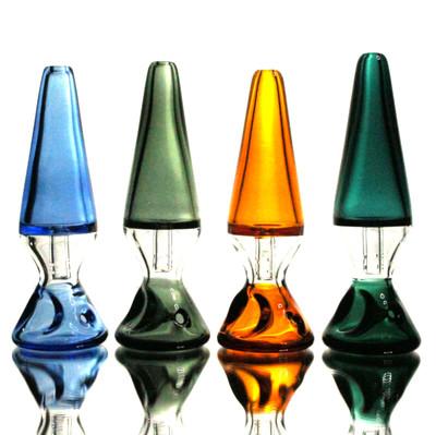 "Pulsar Upright Lava Lamp Hand Pipe - 4.25"""