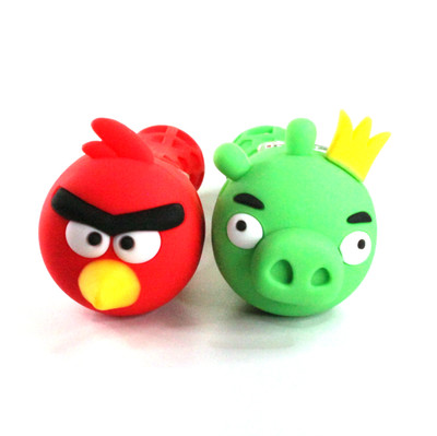 """Silicone Angry Birds Pipe 4.9"""""""