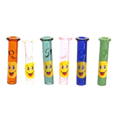 Glass Tip With Smilie