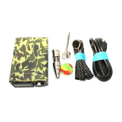 Camo Electronic Enail Ego Bag Kit with Titanium Nail