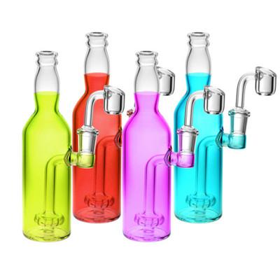 "Bright Soda Bottle Oil Rig - 7.5"" | 14mm F |"