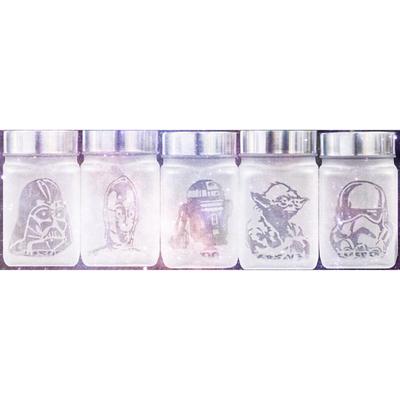 Star Wars Inspired Character Stash Jars