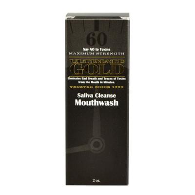 Ultimate Gold Saliva Cleanse Mouthwash - 2 oz.