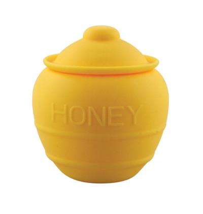 """2.4"""" NoGoo Silicone Jar - Honey Pot"""