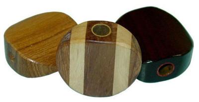 Wood Smoking Stones - Grain & Styles Vary