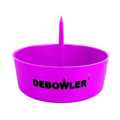 """Debowler Ashtray w/ Cleaning Spike - 4"""""""