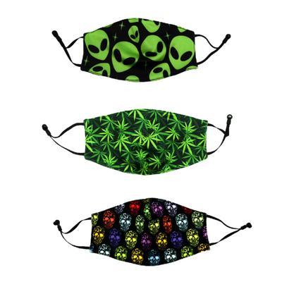Fashionable Face Mask w/ Adjustable Straps