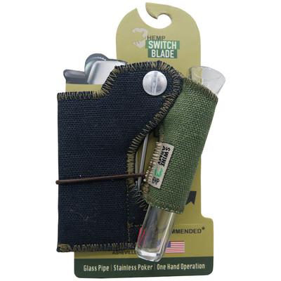 Swine Army Hemp Switch Blade Smoking Kit