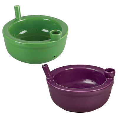 """Roast and Toast Ceramic Cereal Bowl Pipe - 6"""""""