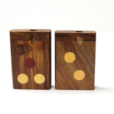 """3"""" Designed Wood Dugout with 2"""" One Hitter"""