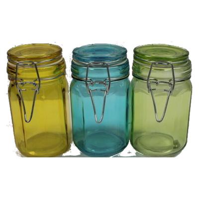 Latching Glass Storage Jars