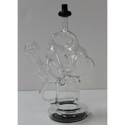 Crazy Dab Recycler w/ Inline Diffuser  9.5""