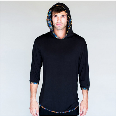 Jumbie Art Anubis Men's Hooded Shirt