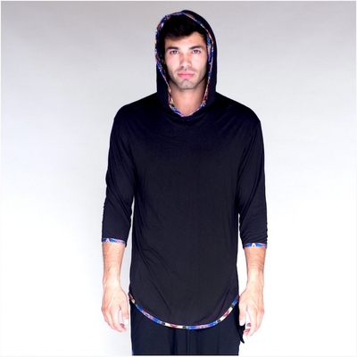 Jumbie Art Horus Men's Hooded Shirt