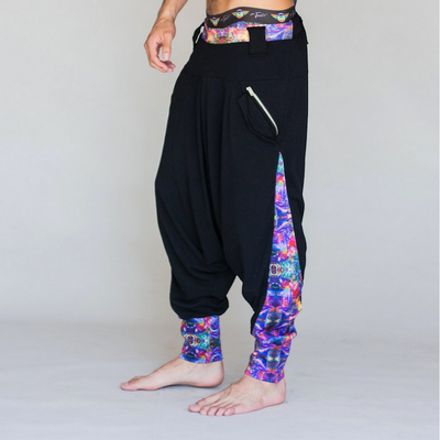 Jumbie Art Abstract Djinni Pants