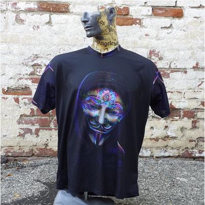 Jumbie Art Dye-Sub Guy Fawkes Shirt