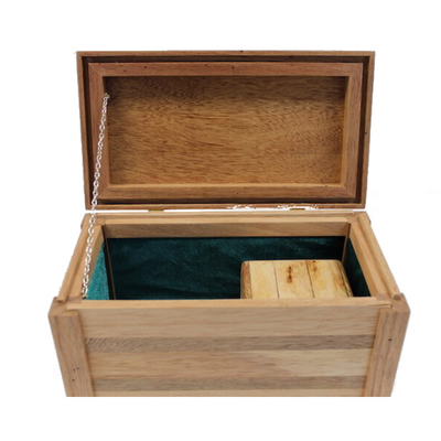 Sypoint Wood Design Pipe Box with Mini 3 Part Kief Box