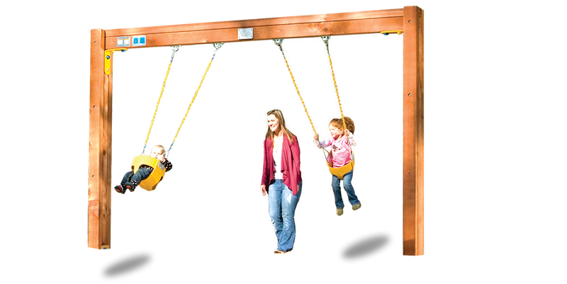 C61-Commercial Toddler Swing Beam