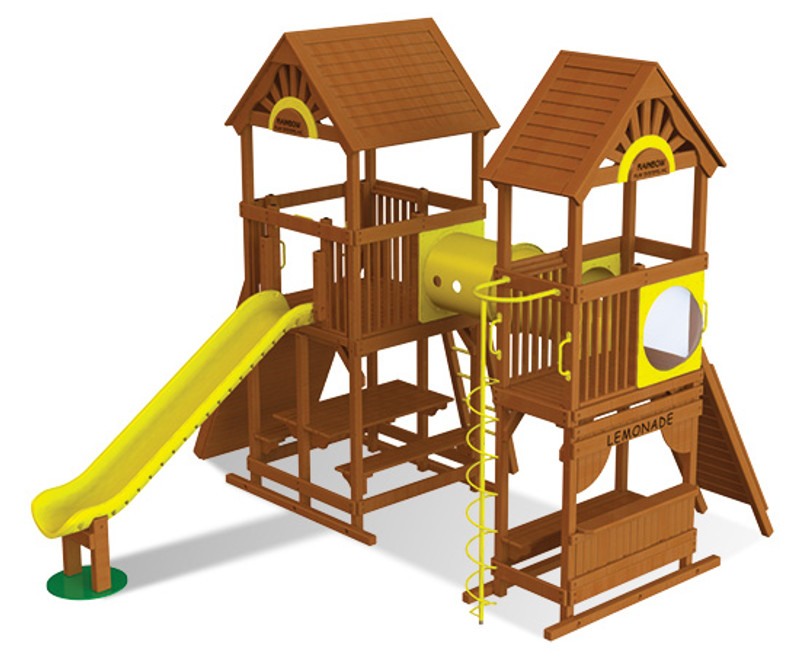 Commercial Play Village Design 501