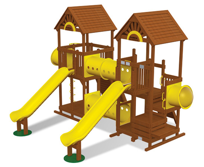 Commercial Play Village Design 603