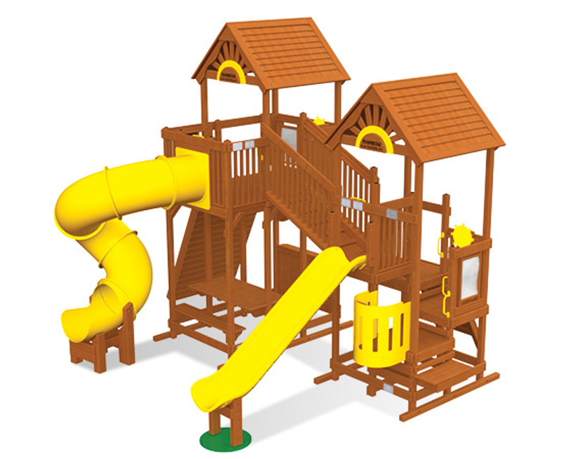 Commercial Play Village Design 702